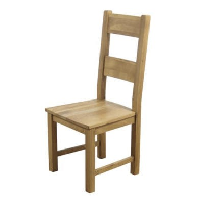 furniture link hampshire solid oak dining chair furniture123