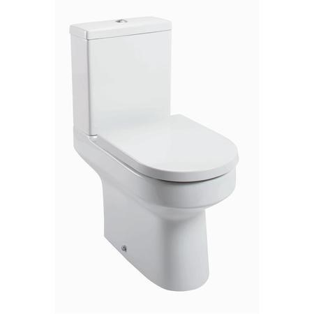 Arc Close Coupled Toilet with Soft Close Seat