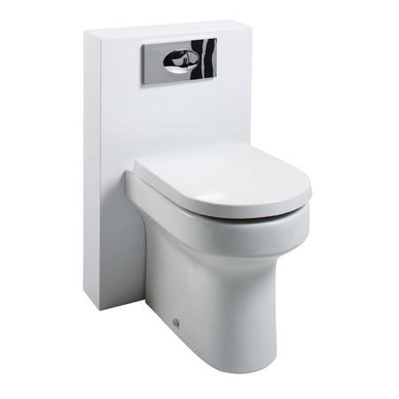 Poly Marble Arc Toilet unit with Wall Hung Basin