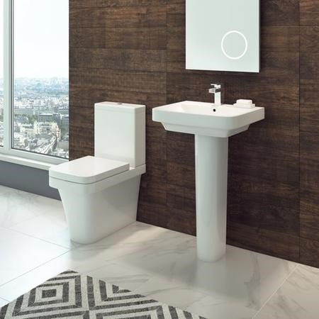 Davana Toilet & Basin Bathroom Suite