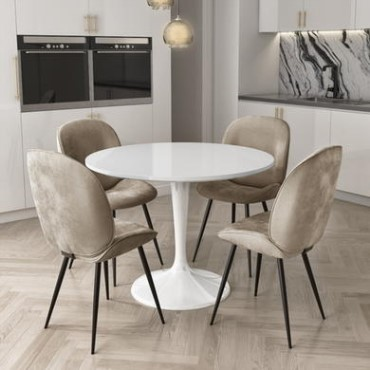 Round Dining Tables Chairs Furniture123, Round Kitchen Tables And Chairs Uk