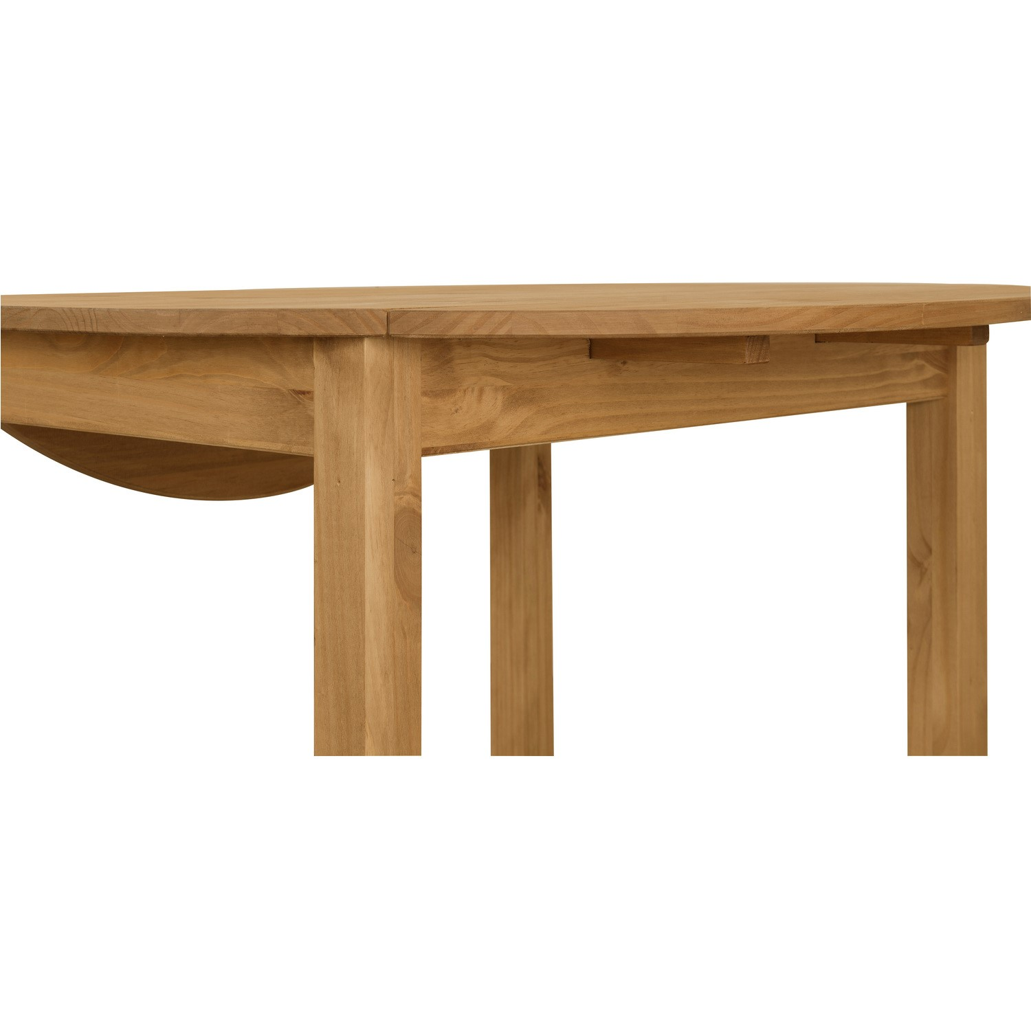 Strange Corona Mexican Solid Pine Round Drop Leaf Dining Table Set With 4 Chairs Ocoug Best Dining Table And Chair Ideas Images Ocougorg