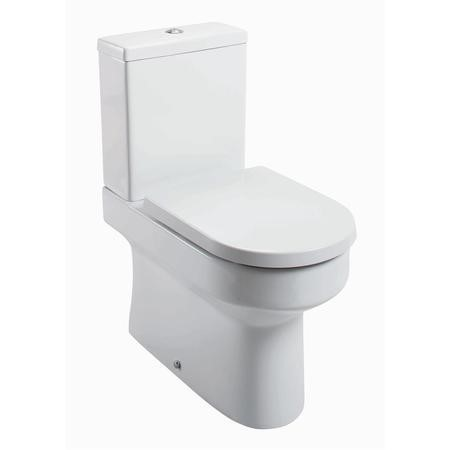Arc Back To Wall  Close Coupled Toilet - Without Seat
