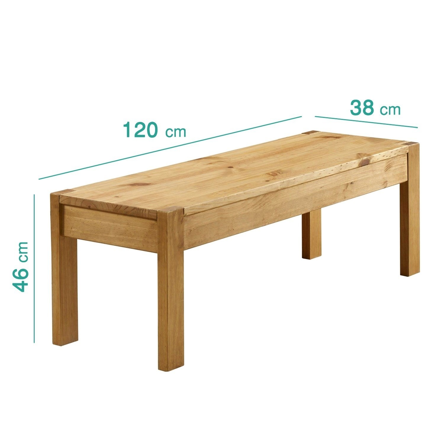 Cool Emerson Solid Pine Wood Dining Set With 1 Dining Table 2 Benches Ibusinesslaw Wood Chair Design Ideas Ibusinesslaworg