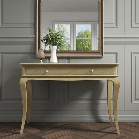 Fonteyn Solid Oak Console Table - French Style