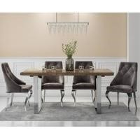 Grayson Reclaimed Wood Dining Table Set