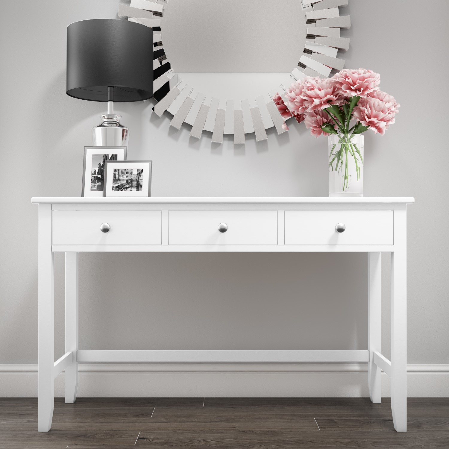 promo code fcade 24db7 Harper White Solid Wood Dressing Table