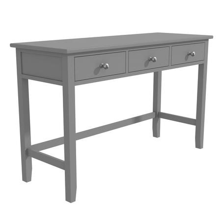 Grey Office Desk with Storage - Harper Range