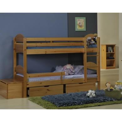 Verona Design Maximus Solid Pine Single Bunk Bed  90x190cm