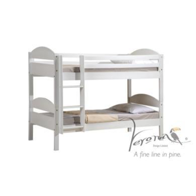 Verona Design Maximus White Single Bed  90x190cm