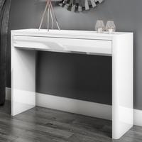Lexi White High Gloss Console Table