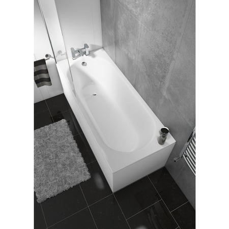 Step Toilet and Basin Bathroom Suite with Bath