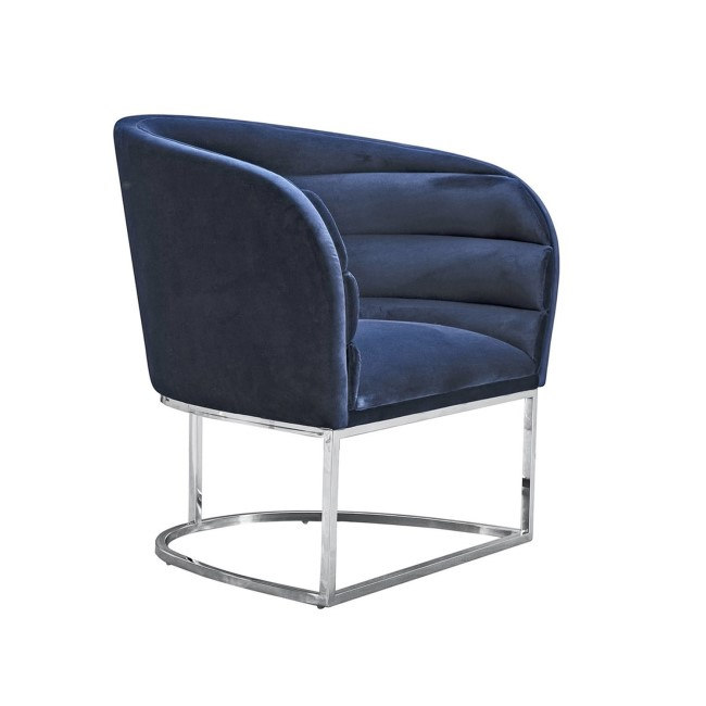 Upton Accent Chair - Blue