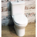 GRADE A1 - Rimless Close Coupled Toilet with Soft Close Seat