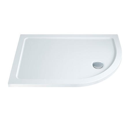Slim Line 900 x 760 Right Hand Quadrant Shower Tray