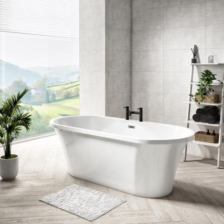 Venice Freestanding Double Ended Bath - L1670 x W730mm