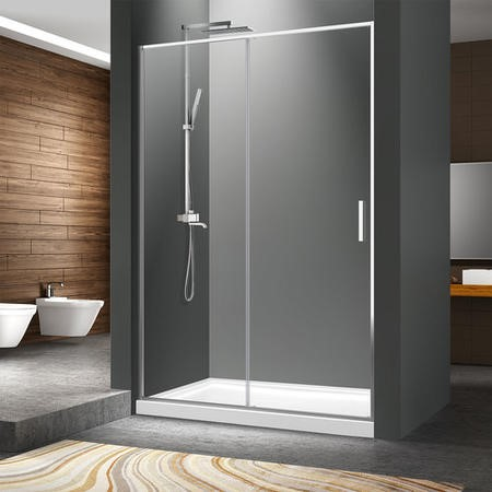 Pivot Shower Door 1200mm - 6mm Glass - Pavo Range