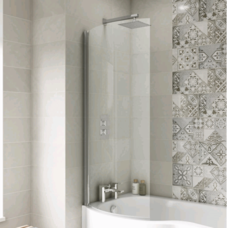 Curved P-Bath Screen