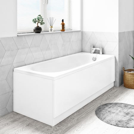 Alton 1600 x 700 Single Ended Round Bath