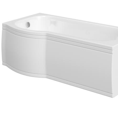 Acrylic P Shaped Bath Front Panel -1700mm