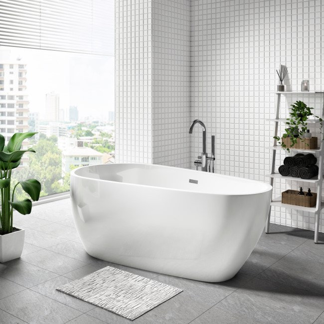 Monaco Freestanding Bath Single Ended - 1600 x 800mm