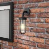 Camden Single Black Cage Wall Light