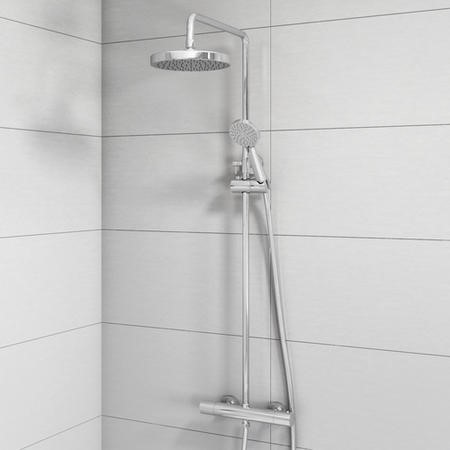 Koto Round Cool Touch Thermostatic Shower Set
