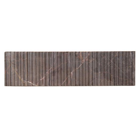 Fantastic Brown Bamboo Borders Wall Tile