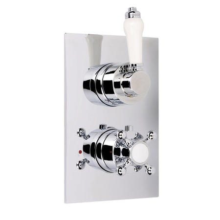 Traditional Concealed Dual Control Shower Valve