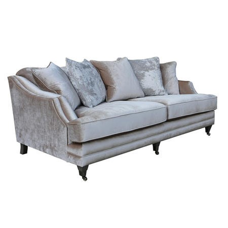 Belvedere 4 Seater in Cream with 5 Scatter Cushions