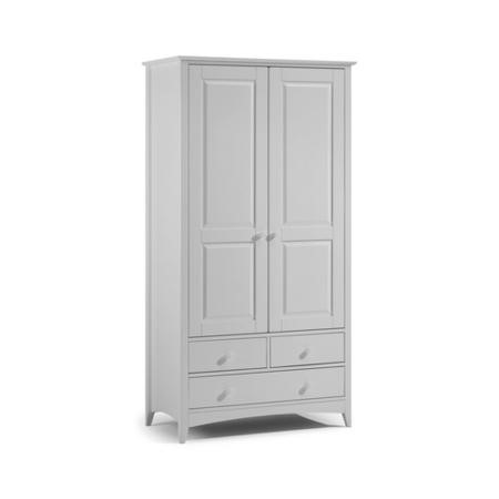 Julian Bowen Cameo Combination Wardrobe in Dove Grey