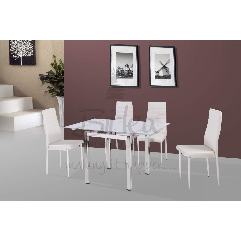 Birlea Furniture Camden Dining Set in White Furniture123 : CAMDSWHT1supersize from furniture123.co.uk size 700 x 700 jpeg 47kB