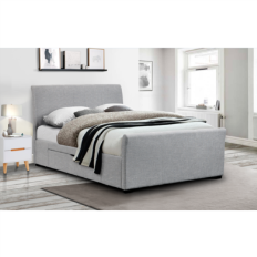 f345606b1689 Capri Grey Upholstered Kingsize Bed With Under Bed Storage