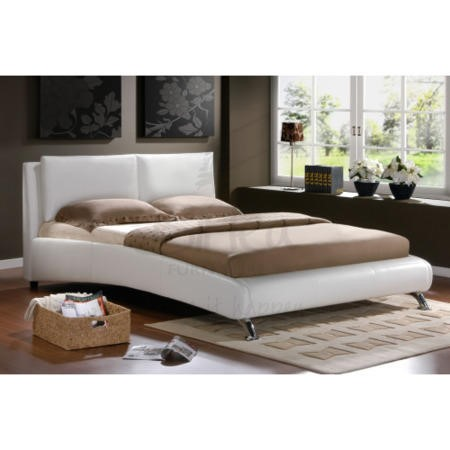 Birlea Furniture Carnaby Double Bed In White Furniture123