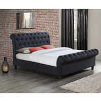 Birlea Castello King Size Bed Charcoal