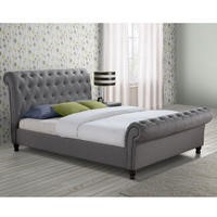 Birlea Castello King Size Bed Grey