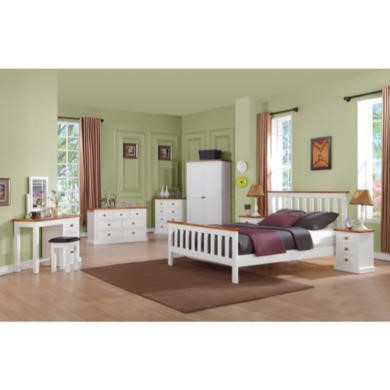 Wilkinson Furniture Cherbourg Solid Pine Single Bed Frame