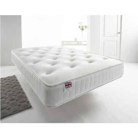 Classic Small Double 4'0 Coil Sprung Bonnell Mattress - Medium Firmness