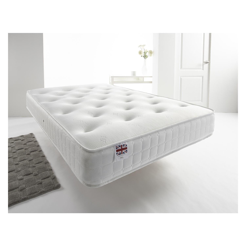 Classic small double 4'0 coil sprung bonnell mattress - medium firmness