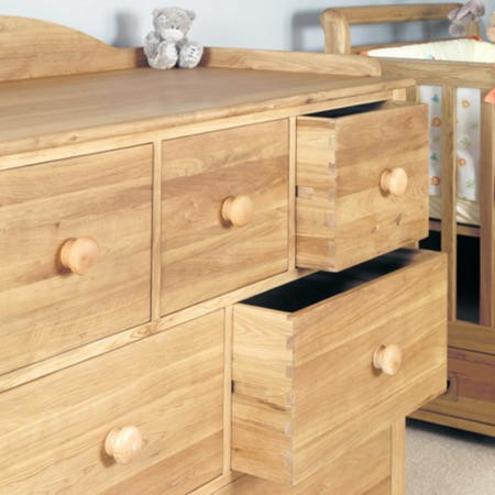 Baumhaus Amelie Oak Changer/Chest of Drawers