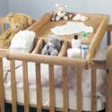 CCO14A Baumhaus Amelie Oak Cot-Top Baby Changer