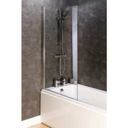 Square Design Shower Bath Screen 6mm