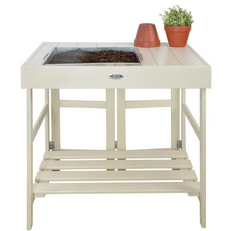 Cream Garden Potting Table