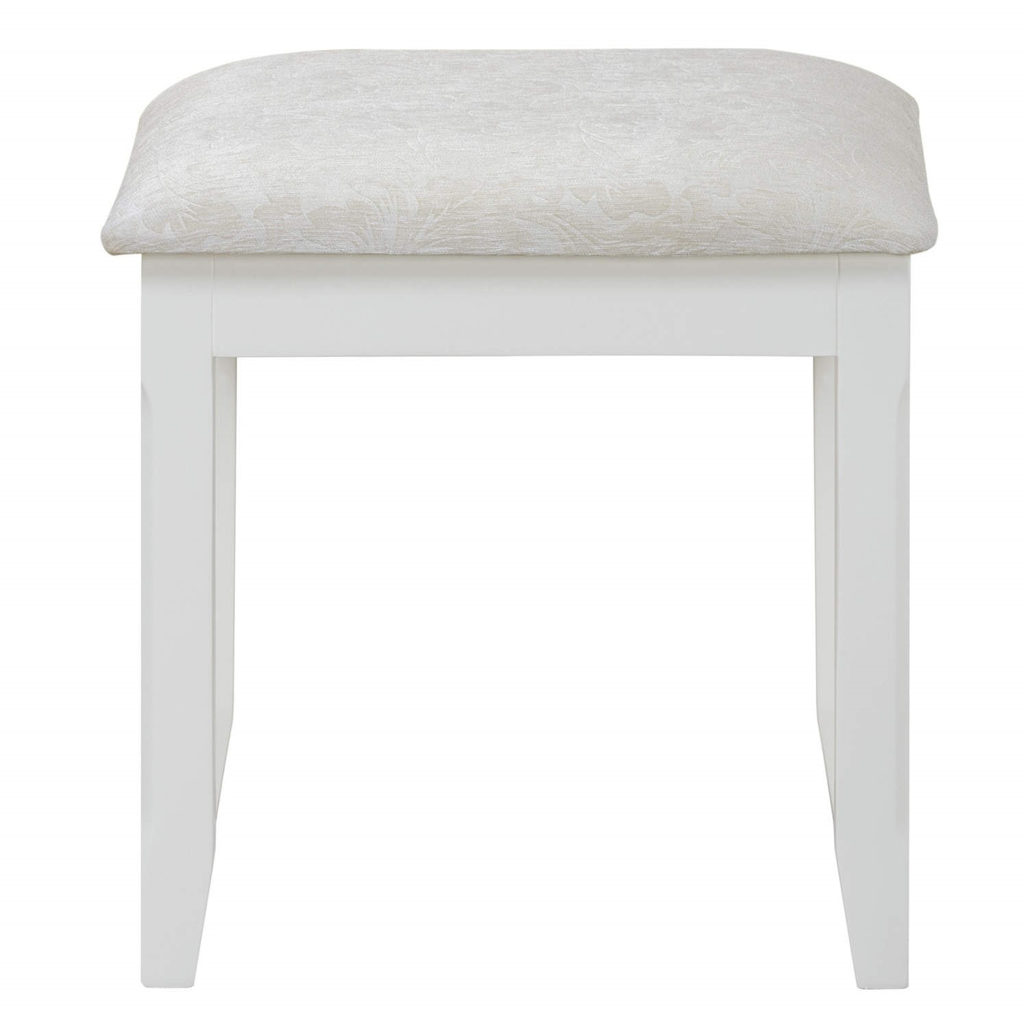 Charleston Dressing Table Stool In Cream Furniture123