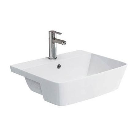 Taylor & Moore Semi Recessed Basin -  1 Tap Hole