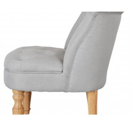 LPD Charlotte Occasional Accent Chair in Duck Egg Blue