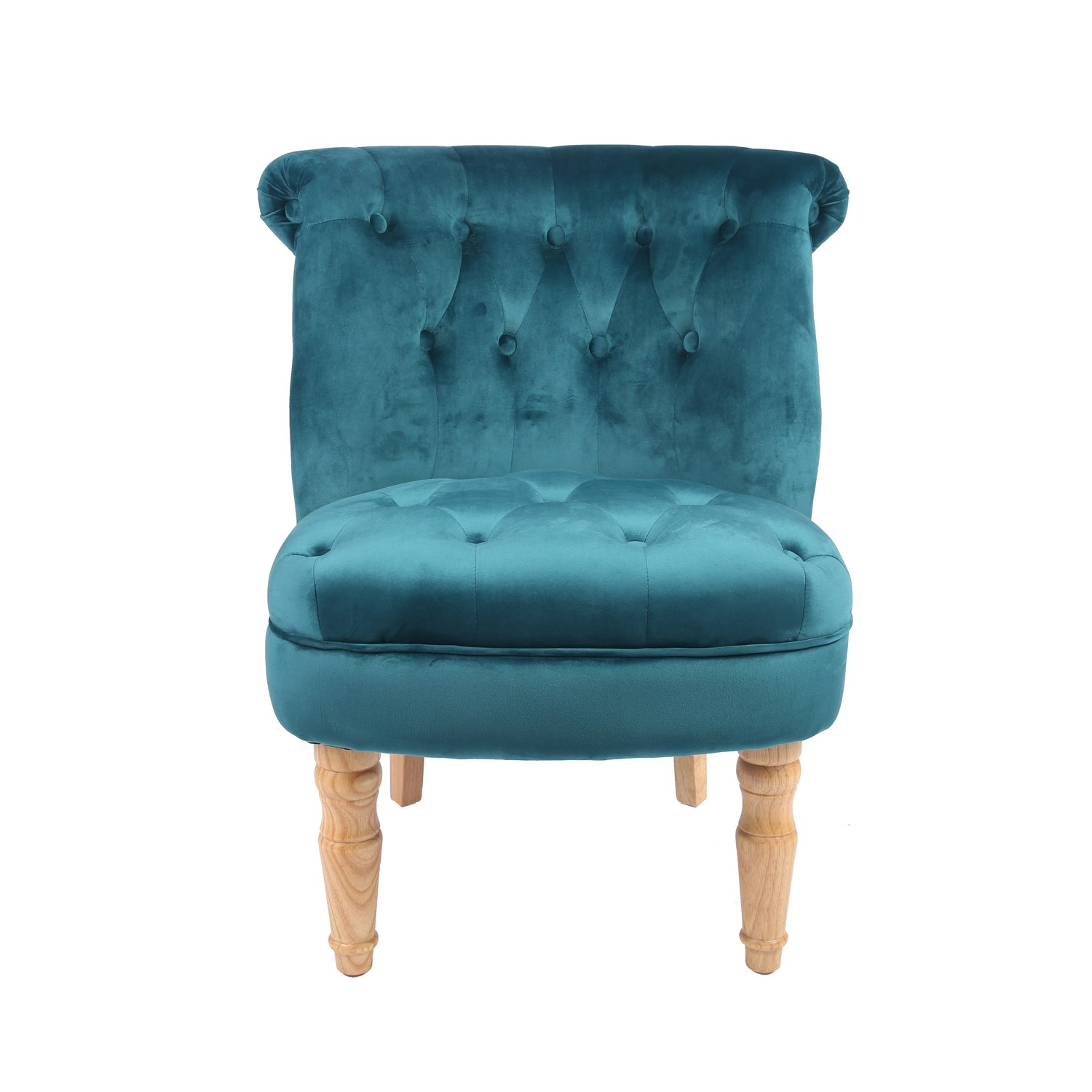 LPD Charlotte Occassional Accent Chair in Teal
