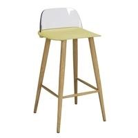LPD Chelsea Pair of Stools Lime