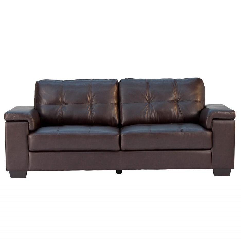 World Furniture Chloe 3 Seater Sofa In Brown Furniture123