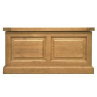 Heritage Furniture Chunky Solid Pine Blanket Box
